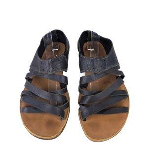 Sorel Sz 9.5 'Lake' Leather Sandals